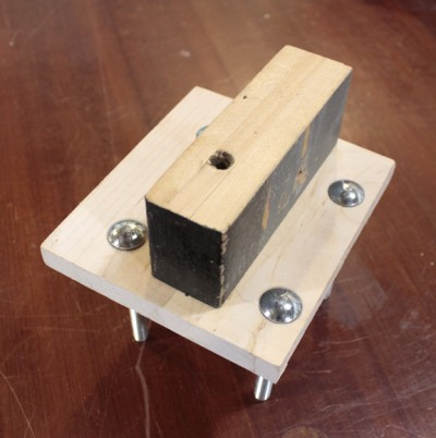 How To Temp A Metal Vise On A Woodworking Workbench Jack Bench By
