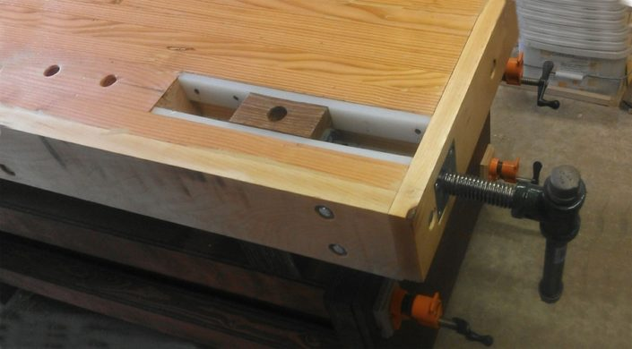 Workbench Wagon Vise