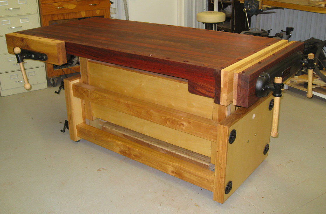 Kevin's Adjustable Height Workbench