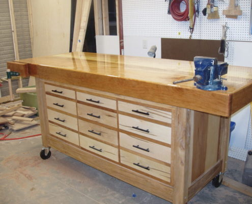 Wooden Work Tables Kitchen